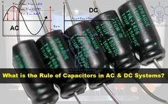 What is the rule & behavior of capacitor in ac and dc circuits Types of Capacitors: Polar and Non Polar Capacitors with Symbols Capacitors Symbols & formula uses and application of Capacitor in AC and DC systems and network