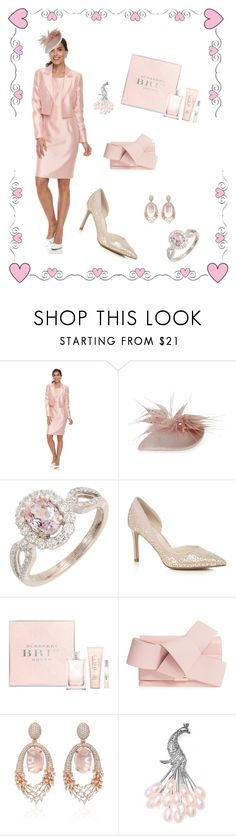 """""""Easter Sunday"""" by nashalymoe ❤ liked on Polyvore featuring Le Suit, Jane Taylor, Jenny Packham, Burberry, Ted Baker, Hueb and Bling Jewelry"""