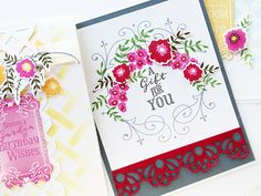 A Gift For You Card by Danielle Flanders for Papertrey Ink (July 2016)