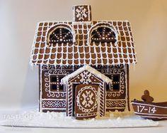 Shetland Pepperkakehus {Gingerbread House Recipe} | A Taste of Shetland