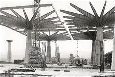 Pier Luigi Nervi Construction Site!!!
