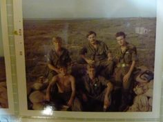 """My father and some of his Vietnam War buddies.  He's in the lower left with his shirt off.  My dad is the Veteran writer of Beneath the Bamboo: A Vietnam War Story.  Learn more here: http://www.jonathon-jones.com/beneaththebamboo.html    Keywords: vietnamwar veterans vietnamvets vets military soldiers 1stcav 1stcavalry firstcavalry firstcav army soldiers military militaryphotos 60s 1960s """"vietnam war"""""""