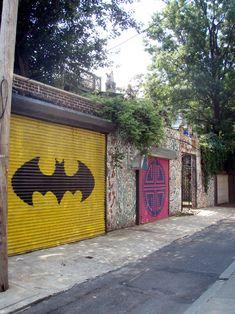 Batman Garage Door: Sweetest Door Ever