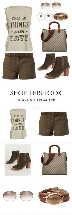 """Untitled #1133"" by gallant81 ❤ liked on Polyvore featuring TOMS, Gucci, Oliver Peoples, Skagen and Etro"