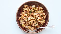 Roasted Kohlrabi with Buttered Hazelnuts