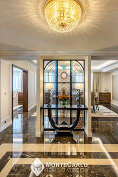 """Situé dans un quartier ultra résidentiel, la """"Villa de Rome"""", Résidence de Style """"Belle Époque"""" est une adresse prestigieuse à Monaco. Monte Carlo Monaco, Rome, Villa, Real Estate, Style, Belle Epoque, Swag, Real Estates, Fork"""