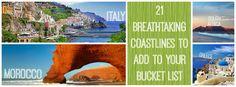 21 Breathtaking Coastlines To Add To Your Bucket List (via BuzzFeed)
