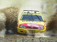 Citroen Saxo S1600 rally car