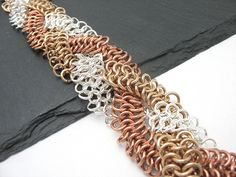 Braided chainmaille