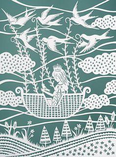 Elaborate Paper Art by Sarah Trumbauer | Wave Avenue