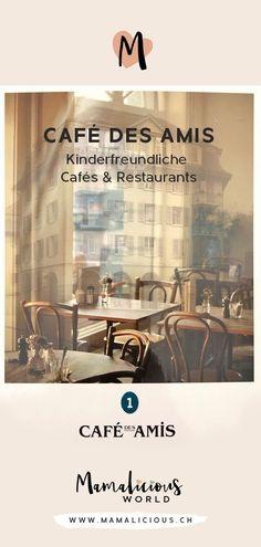 Kinderfreundliche Cafés & Restaurants - Mit dem CAFÉ DES AMIS eröffneten wir im März 2011 in Zürich Wipkingen an einem bis dahin unwirtlichen Ort eine wunderbar verspielte Oase ... | Aktivitäten mit Kindern in der Schweiz, Ausflugsziele Schweiz #kindergeburtstag #kinder #aktivitäten #kinderaktivitäten