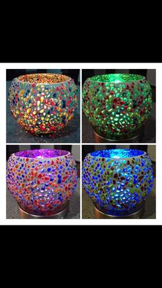 Colour Changing Candle Base With The Konfetti Votive Holder WOW!! Check Out  The Online