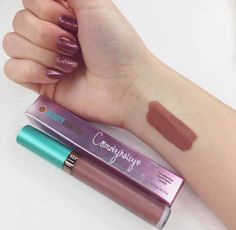 We are head over cupcakes for our NEW Salted Caramel Mocha Lip Whip in collaboration with @cosmobyhaley!   It is a versatile shade that looks stunning in all skin tones, and of course...SMUDGE FREE! Indulge today on BeautyBakerie.com!