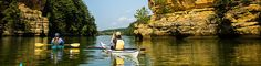 [Back to 'Canoe & Kayak'] There is a lot to be said about the independence of paddling your own canoe or kayak when exploring the Upper Dells. In your own boat you have the opportun…