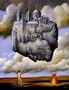 Surrealist artist Rafal Olbinski