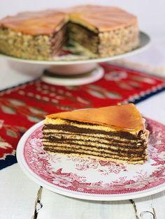Tort doboș, cel mai bun tort doboș, rețetă veche de familie – Chef Nicolaie Tomescu