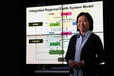 Dr. Ruby Leung, Pacific Northwest National Laboratory, builds accurate, intricate computer models that allow researchers and stakeholders to...