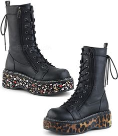 09ee584736e93 77 Best Gothic Shoes, Boots and Heels images in 2018 | Goth shoes ...