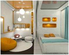 Best Design Idea Green Home Futuristic Bedroom