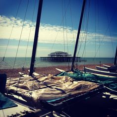 Brighton Beach on the first day of May 2012