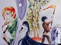 The Kingkiller Chronicle by Neko6.deviantart.com on @deviantART