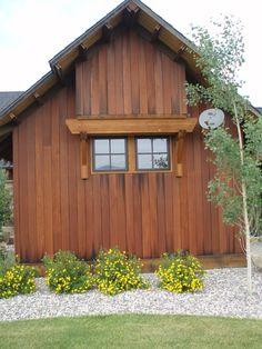 Wine Tank Redwood Siding   -Montana Reclaimed Lumber Co.