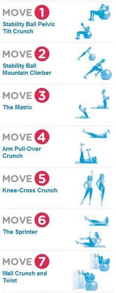 15 min ab workout (7 exercises)