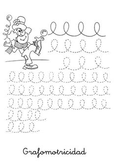motricidad fina- de aqui y de alla – Marcia Evelin Solange Darmazo Araujo – Picasa Уеб Албуми Alphabet Writing, Preschool Writing, Preschool Learning Activities, Pre Writing, Fun Learning, Tracing Worksheets, Preschool Worksheets, Baby Clip Art, Colouring Pages