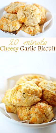 No one ever has to know it only took 20 minutes to make these MOUTHWATERING biscuits! No one ever has to know it only took 20 minutes to make these MOUTHWATERING biscuits! Biscuit Bread, Biscuit Recipe, Garlic Cheese Biscuits, Easy Cheese Biscuits Recipe, Mayonaise Biscuits, Quick Biscuits, Oatmeal Biscuits, Cinnamon Biscuits, Fluffy Biscuits