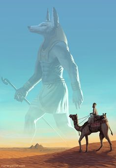 (Visions of the past by rainerpetterart.deviantart) (Guardian of the Sands) ~Wendy Hamlet