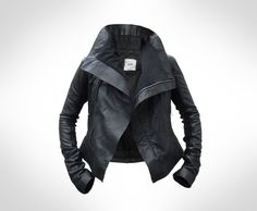 coolest leather jacket.  ever.