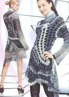 Crochet Flower Patterns Dresses women's by RussianCrochetBooks, $6.99