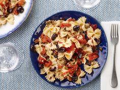 Pasta Puttanesca recipe from Food Network Kitchen via Food Network