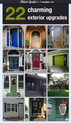 It's amazing how a small exterior change can completely alter the way your home looks. Show your home some love with these breathtaking exterior upgrades!