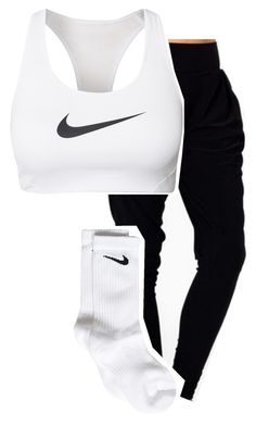 Untitled #135 by imma-ninjah on Polyvore featuring polyvore, fashion, style and NIKE