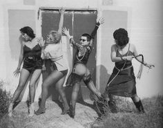 Alice Bag, Belinda Carlisle, Hellin Killer, and Pleasant Gehman photographed by Jenny Lens, 1977 Punk Rock Girls, Alice Bag, Belinda Carlisle, The New Wave, Summer Rain, Collage, Cybergoth, Music Photo, Post Punk