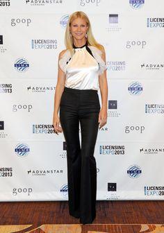 Gwyneth Paltrow wears Prabal Gurung at the Licensing Expo in Las Vegas.