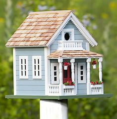Classic Newburyport Cottage Bird House