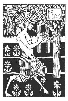 Aubrey Beardsley - Illustration - Art Nouveau - Ex Libris Ink Illustrations, Illustration Art, Art Nouveau, Woodcut Art, Dibujos Tattoo, Japanese Woodcut, Tarot, Aubrey Beardsley, Tinta China