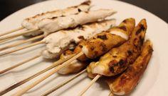 Kylling Sataysticks – klassiske kyllingespyd