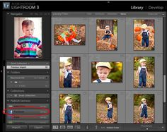 Posting photos to facebook directly from Lightroom