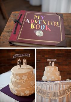 "Disney ""Up"" themed wedding so cute http://blog.weddingwire.com/index.php/weddings/an-up-inspired-love-story-wedding/?utm_source=facebook.com_medium=social-media_campaign=blog-inspiration=facebook-blog-inspiration"