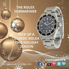 Only 24 shopping days left until Christmas. Wouldn't someone you love look good with this Rolex Submariner? #rolex #watch #watches #watchmaster #passionforwatches #submariner #rolexsubmariner #time #timepiece #gift #christmas #present #instagift