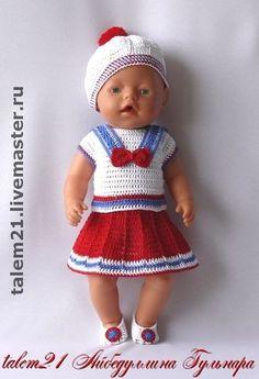 Одежда для кукол ручной работы. Ярмарка Мастеров - ручная работа Морячка. Handmade.