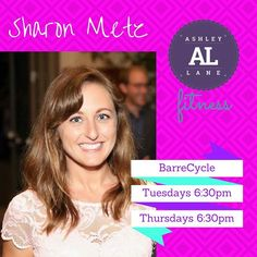 New Instructor Alert!! We could not be more excited to have Sharon as an Instructor at ALFitness!! Find her every Tuesday and Thursday 6:30pm teaching you to tuck and cycle in BarreCycle