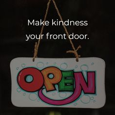 Marketing Tip Of The Day:  Make kindness your front door.   Treat others the way you would want to be treated.   #marketingtips #marketing #business #businesstips #businesssuccess #marketingsuccess #quotes #businessquotes #lionheartdevs Business Quotes, Business Tips, Online Marketing, Success, Content, Day, How To Make
