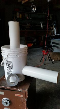 Here is an inexpensive DIY rocket stove project that my brother put together a couple weeks ago. No special skills or tools are required and the materials cost less than sixteen dollars. Rocket Stove Design, Diy Rocket Stove, Rocket Mass Heater, Rocket Stoves, Jet Stove, Outdoor Stove, Diy Grill, Four A Pizza, Cooking Stove