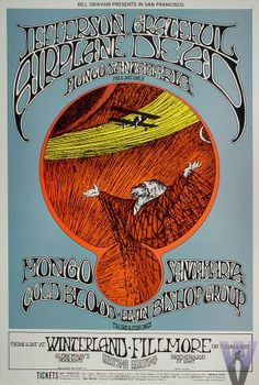 Jefferson Airplane and Grateful Dead at the Fillmore - Winterland