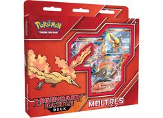 Get ready for a Legendary Battle! Lead the Flame Pokemon Moltres into battle with the Pokémon TCG: Legendary Battle Deck! This deck is r. Pokemon Store, Pokemon Flareon, Pokemon Fusion Art, Deck Of Cards, Card Deck, Pokémon Cards, Kings Game, Lego Mechs, Deck Box