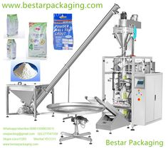 Bestar packaging provide Vertical Form Fill & Seal (VFFS) Machine for 500g,1kg,2kg,3kg,4kg,5kg wall putty powder,tile grout powder,powder wall tile grout,White Powder Wall Tile Grout,floor tile grout powder,FLOOR & WALL TILE ADHESIVE Skype:coco11283 WhatsApp,viber:008613590629511,onepacking@gmail.com www.bestarpackaging.com Fully-automatically complete all the process from feeding, weighing, filling and bag-making, date-printing to finished products outputting.